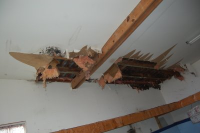 roof - leak